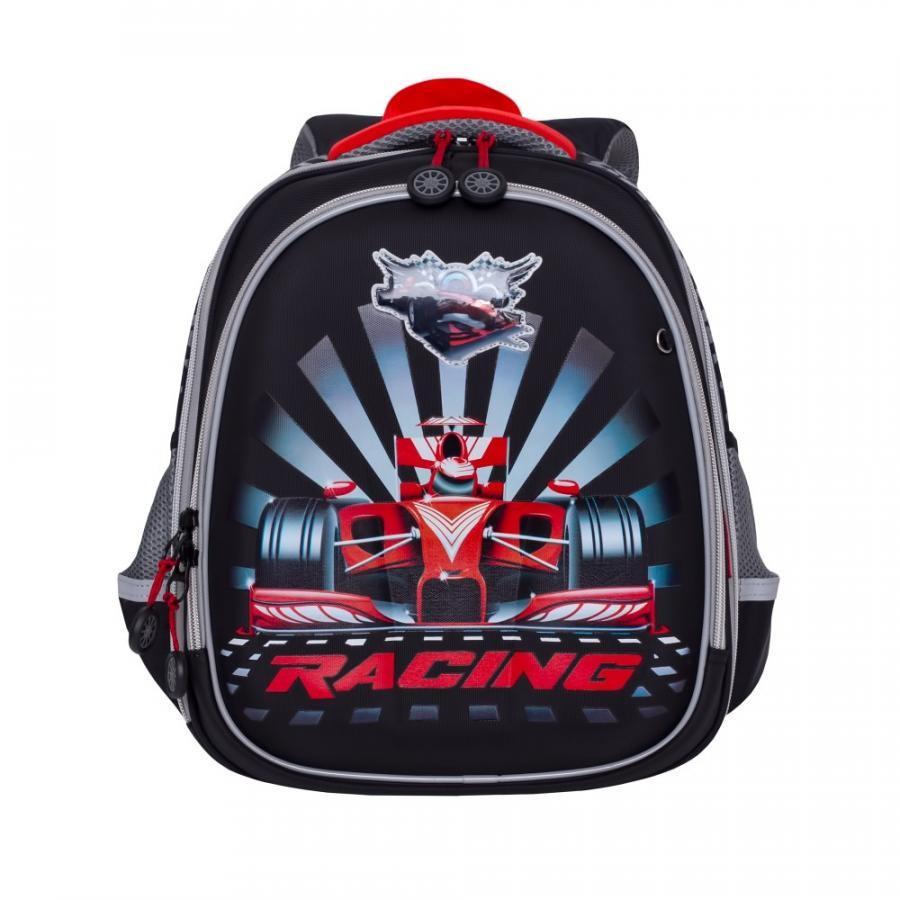 f4de12afa13a Школьный рюкзак Grizzly RA-878-7 черный купить недорого