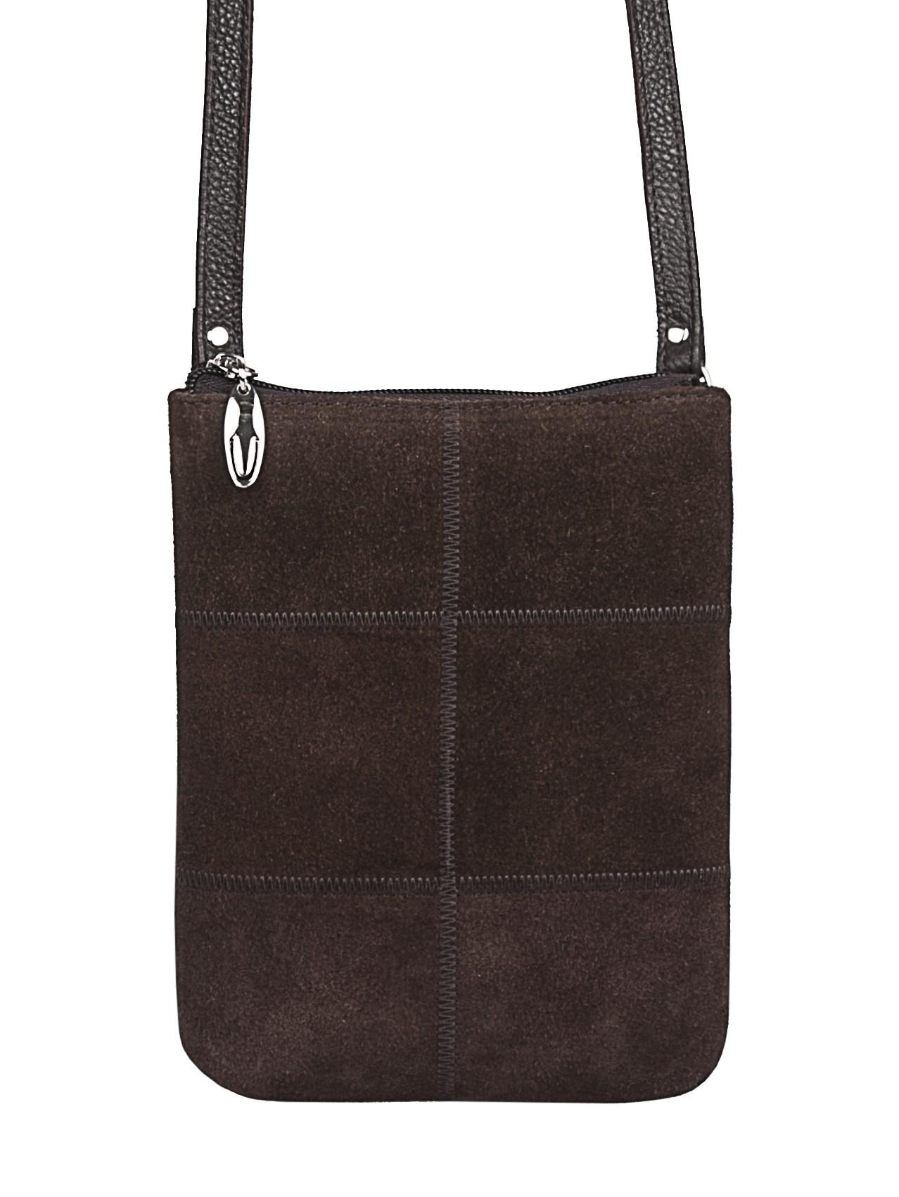 e7127cebc428 Женская сумка Альянс 1-4109к замша кор купить недорого
