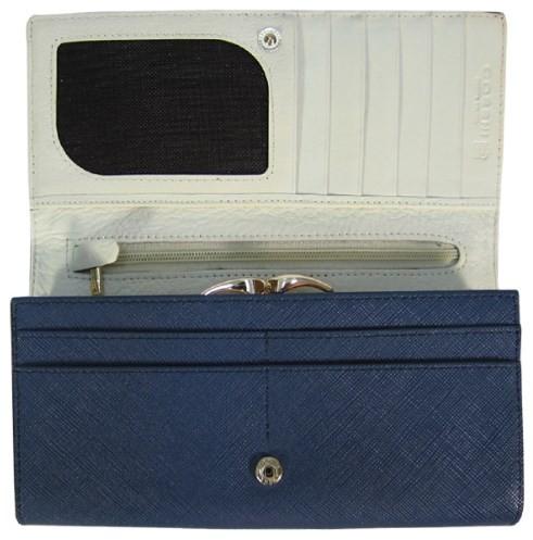 Женский кошелек Cossni c15-10128 blue купить недорого