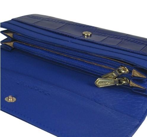 Женский кошелек Cossni c15-12152 blue купить недорого